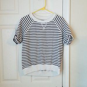 Aerie short-sleeved sweatshirt